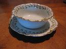 Haviland Limoges Ramekin cup & saucer, Sch 113