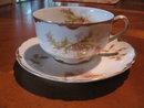 Haviland Limoges Tea cup and Saucer,  Schleiger 41C
