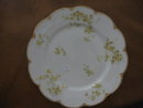 Haviland Limoges Lunch plate, yellow roses