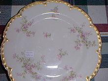 Haviland Limoges Luncheon Plate Schleiger 29K
