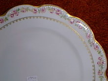 Haviland Limoges dinner plate Schleiger 526