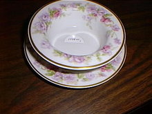 Haviland Limoges ramekin cup/saucer