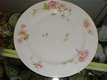 Haviland Limoges bread/butter plate Schleiger 59E
