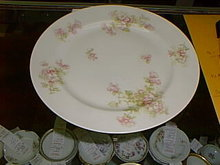 Haviland Limoges Dinner Plate Schleiger 66B