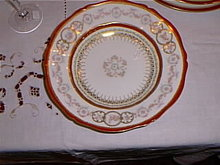 Haviland Limoges rimmed soup bowls-set of 12