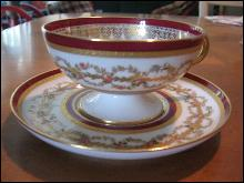 Haviland Limoges Tea Cup and Saucer
