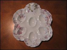Haviland Limoges Egg Plate