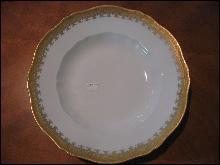 Haviland Limoges Rimmed soup bowls, set of 9