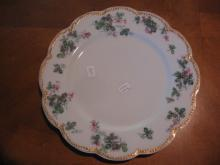 Haviland Limoges Dinner Plate, Schleiger 908 variation