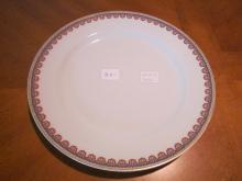 Haviland Limoges luncheon plate, The National