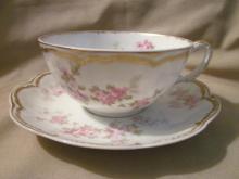 Haviland Limoges tea cup & saucer