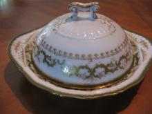 Haviland Limoges 3 piece butter dish