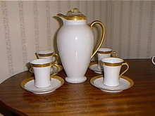 Haviland Limoges Chocolate Set, lots of heavy