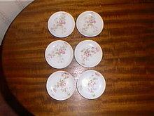 Haviland Limoges butter pats, set of 6