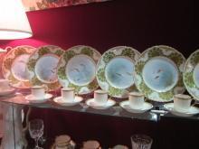 Set of 12 Haviland Limoges demitasse cups & saucers, Sch 890