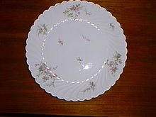 Haviland Limoges large shallow bowl, Julia pattern