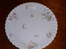 Haviland Limoges large chop platter, Julia pattern