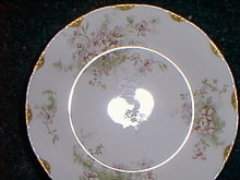 Haviland Limoges soup bowl, Schleiger 146