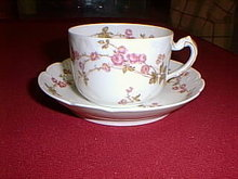 Haviland Limoges tea cup and saucer, Sch 679