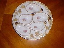 Haviland Limoges oyster plate