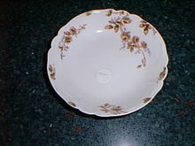 Haviland Limoges sauce bowl with roses