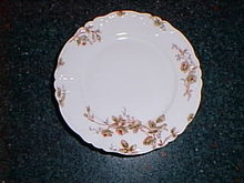 Haviland Limoges salad plate with roses