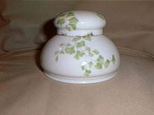 Haviland Limoges Inkwell with insert