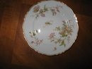 Haviland Limoges bread & butter plate, Poppy pattern