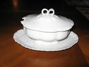 Haviland Limoges covered sauce, White Ranson