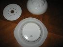 Haviland Limoges 3 piece butter dish, White Ranson