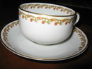 Haviland Limoges tea cup and saucer,  Sch 101A
