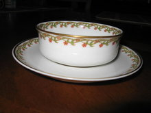 Haviland Limoges Ramekin cup and saucer,  Sch 101A