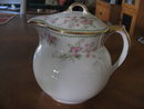 Haviland Limoges covered  syrup pitcher