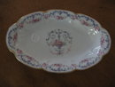 Haviland Limoges Relish dish, Garland pattrn