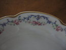 Haviland Limoges round handled dish, Garland pattrn