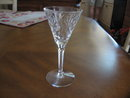 Antique Sherry glassware by Seneca