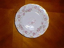 Haviland Limoges bread & butter plate, Schleiger 320