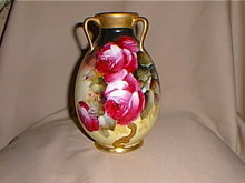 Haviland Limoges Vase, Pickard  and artist signed