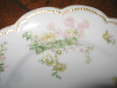 Haviland Limoges Salad Plate, Sch 261G, Pink & Green