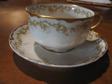 Haviland Limoges Tea cup & saucer, Sch 269