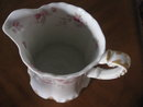 Haviland Limoges Large Water Pitcher w/roses