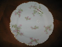 Haviland Limoges Luncheon Plate, Sch 29Q