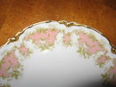 Haviland Limoges Dinner Plate, Sch 252, white roses