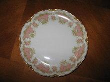 Haviland Limoges Dessert/bread  Plate, Sch 252, white roses