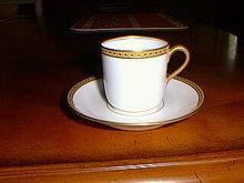 Haviland Limoges demitasse cup & saucer, Sch 890