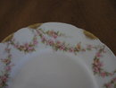 Haviland Limoges Bread & Butter plate,  pink roses, Sch 145