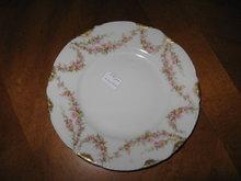 Haviland Limoges Salad plate,  pink roses, Sch 145