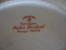 Haviland Limoges Salad Plate, Sch 148A violets