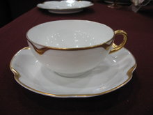 Haviland Limoges Tea cup & Saucer, Schleiger 19