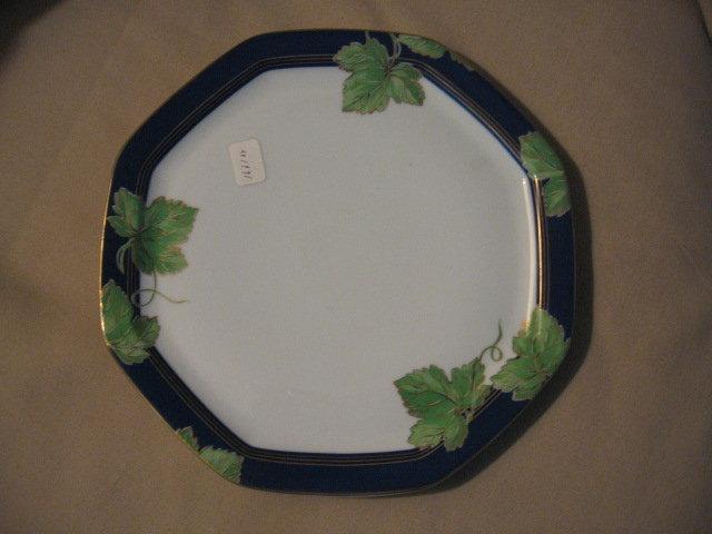 Haviland limoges salad plate jardin d 39 hiver - Jardin mediterraneen limoges ...